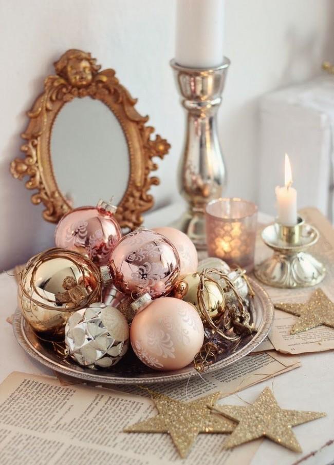 Des décorations lumineuses garantissent une ambiance festive