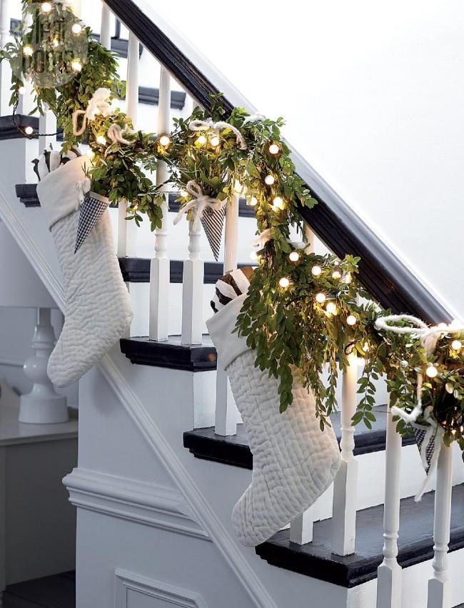 Pour décorer les escaliers, vous pouvez utiliser avec succès