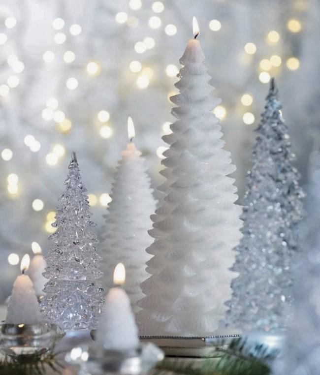 Toute bougie du Nouvel An, en tant que cher invité, mérite une attention particulière