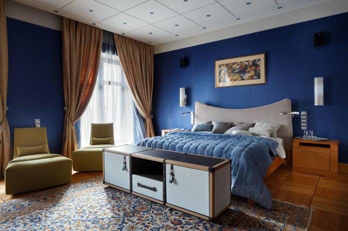 tapis dans la chambre