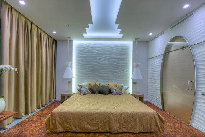 chambre avec éclairage LED d'origine