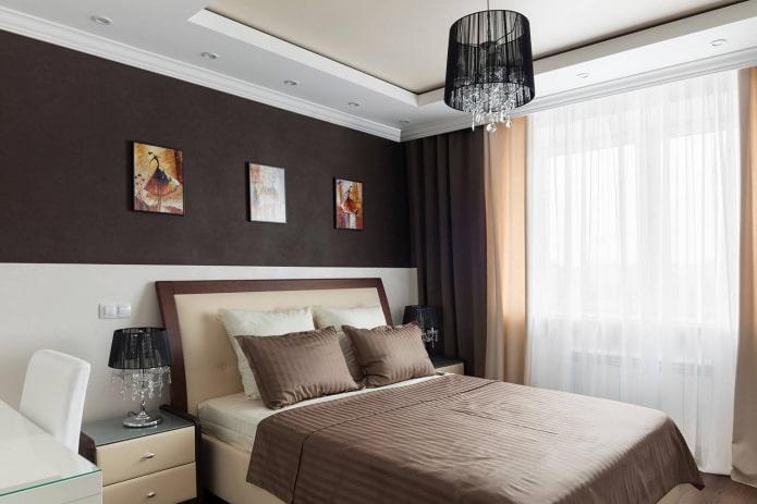 Plafond bicolore
