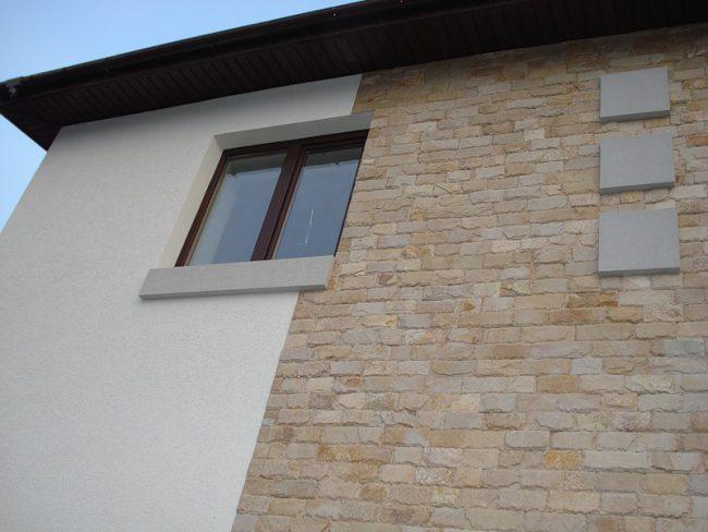 Matériau de décoration de mur extérieur respectueux de l'environnement
