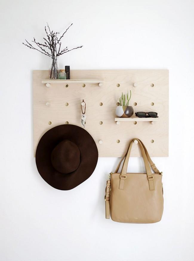 Plus le design du cintre est original et élégant, plus il devient confortable dans le couloir.