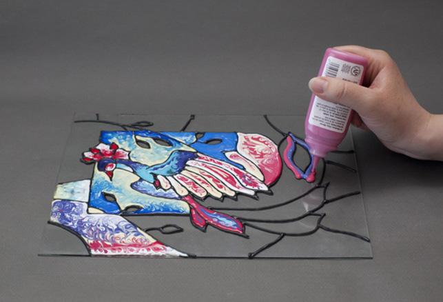Les peintures à l'eau ne doivent pas être diluées, en particulier sur des surfaces inégales.