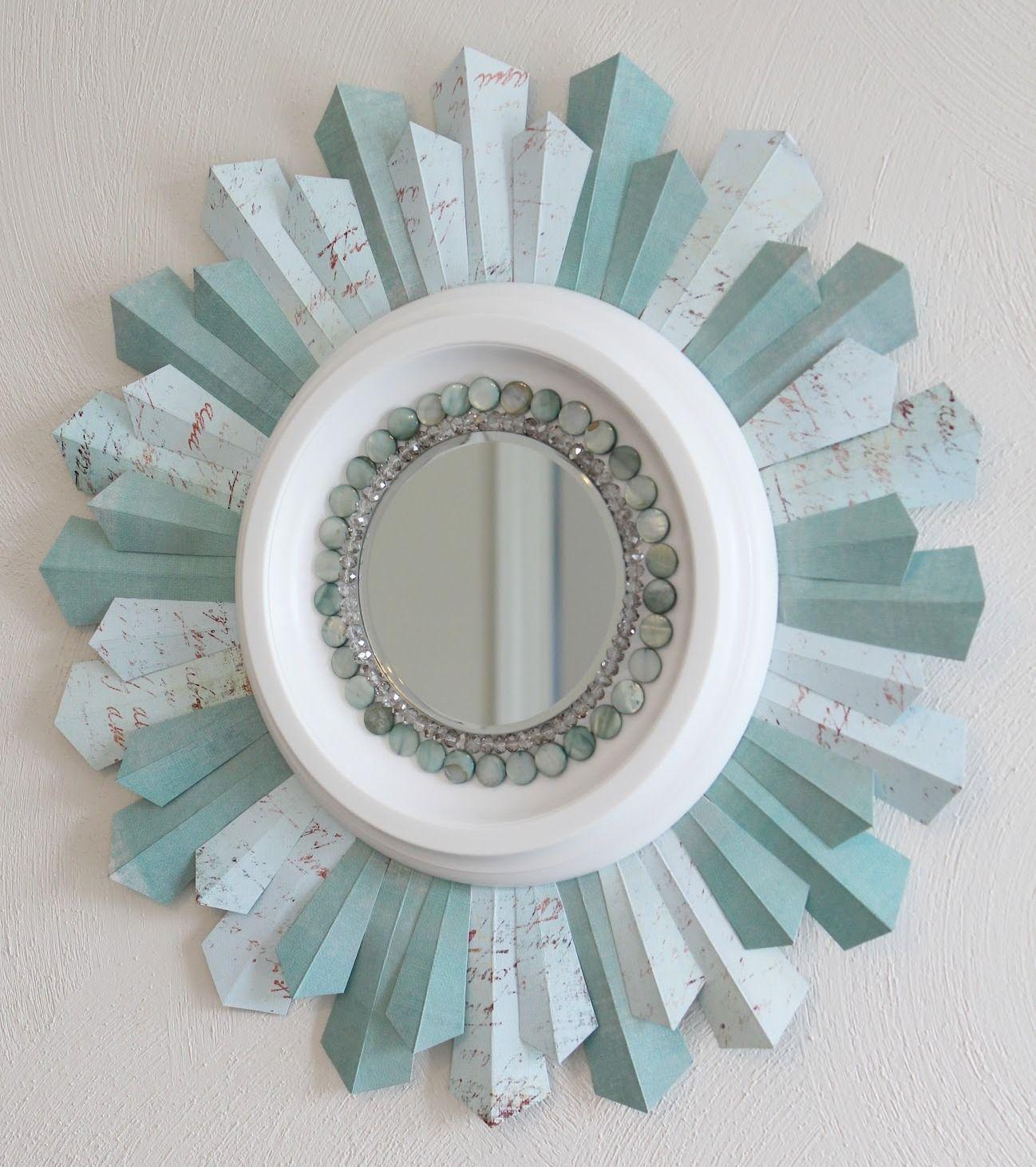 Simple et créatif - cadre en papier multicolore