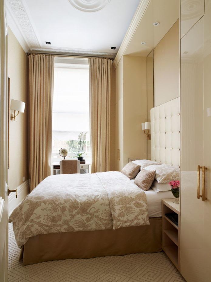 intérieur de chambre beige