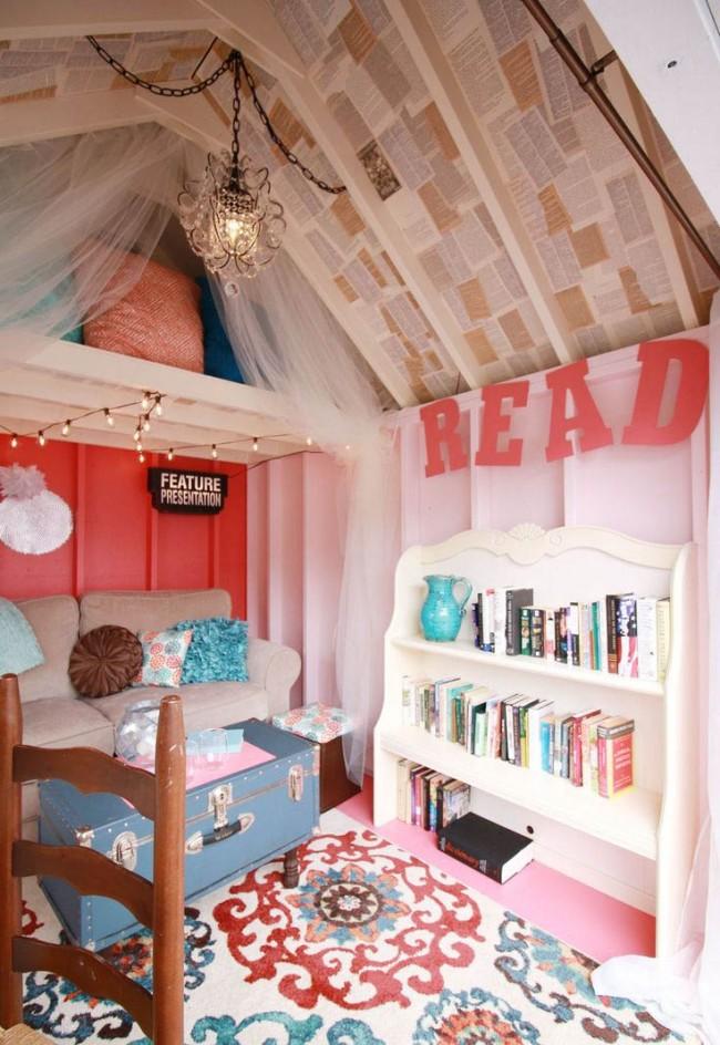 L'une des variétés de décoration de plafond est le découpage