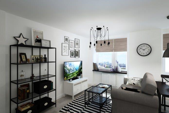 studio de création 33 m².  m.