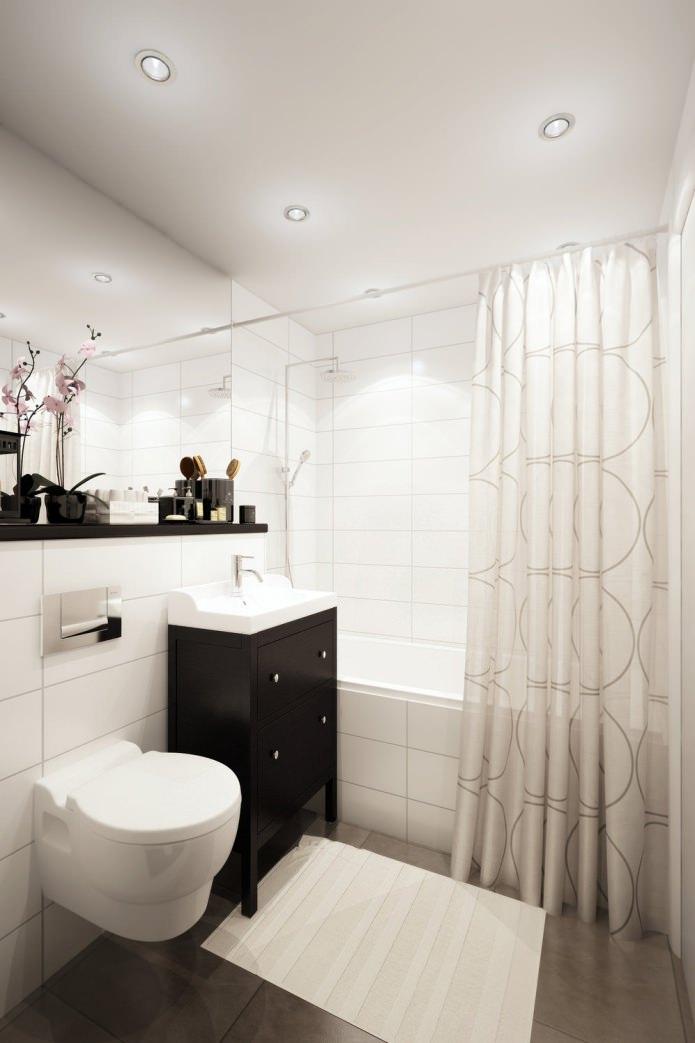 conception de salle de bain moderne