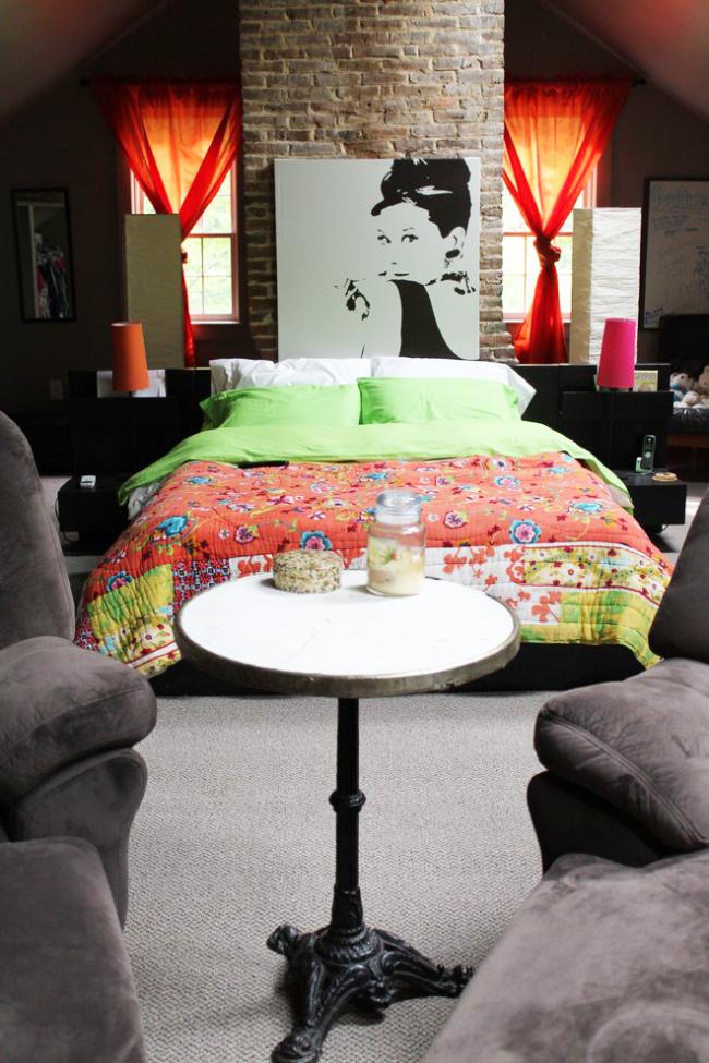 Chambre élégante pour une adolescente