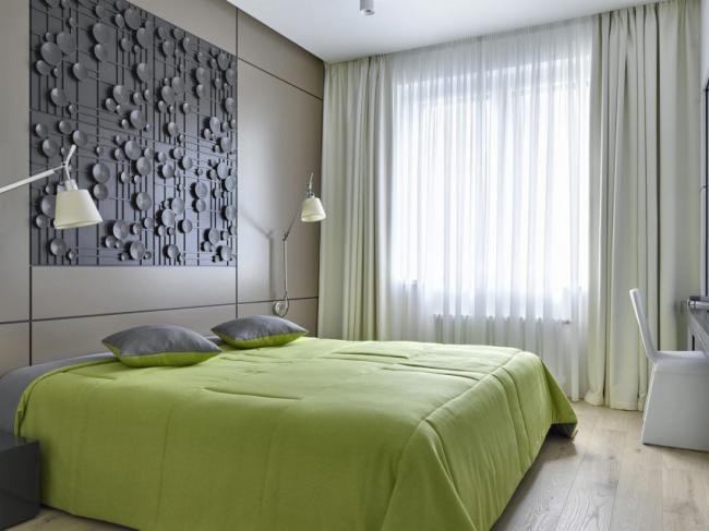 Option de design léger et austère dans le style du minimalisme