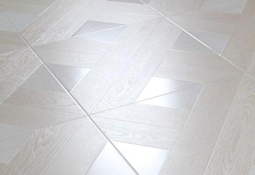 Stratifié de forme carrée