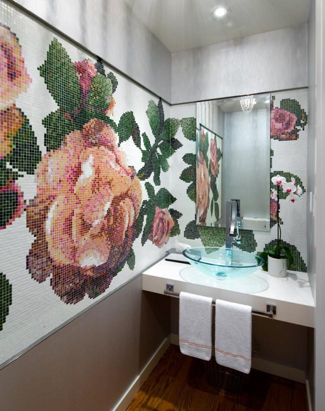 Vous pouvez choisir un tel motif de plante à partir de parcelles toutes faites ou en collectionner une fantaisie unique à partir de