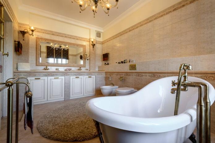 Robinet de baignoire vintage