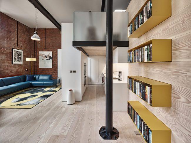 Bel intérieur dans un style moderne