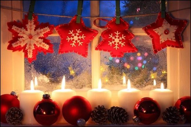 Les bougies créent l'ambiance d'une maison chaleureuse