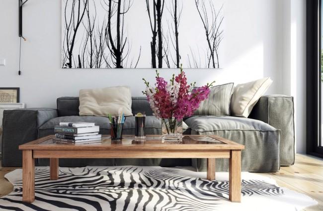 Peindre avec un paysage calme et neutre aidera à se calmer et à se détendre