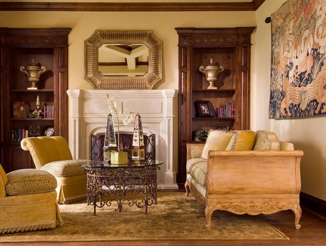 Des meubles ajourés élégants souligneront le style et le goût des propriétaires