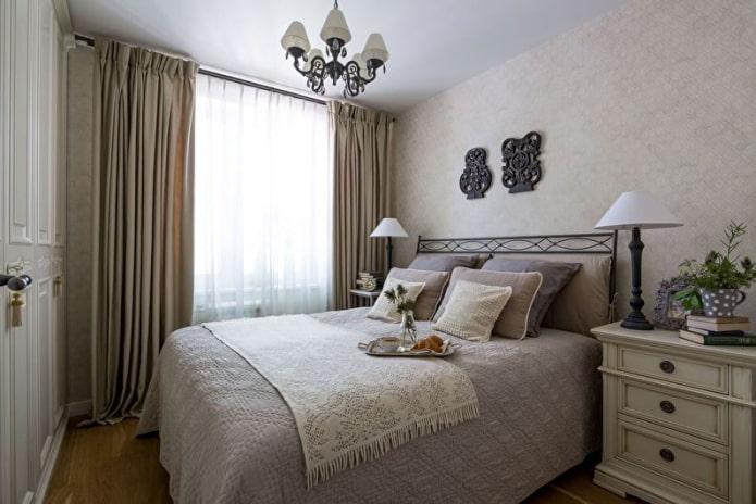 petite chambre de style provençal
