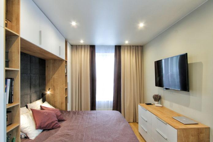 meubles dans la chambre 9 carrés
