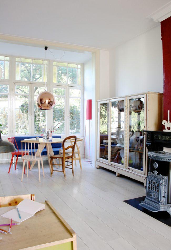 Style scandinave léger et confortable dans la décoration de la maison
