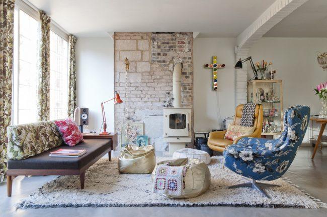 Style éclectique mixte adapté à toute la famille avec des goûts différents