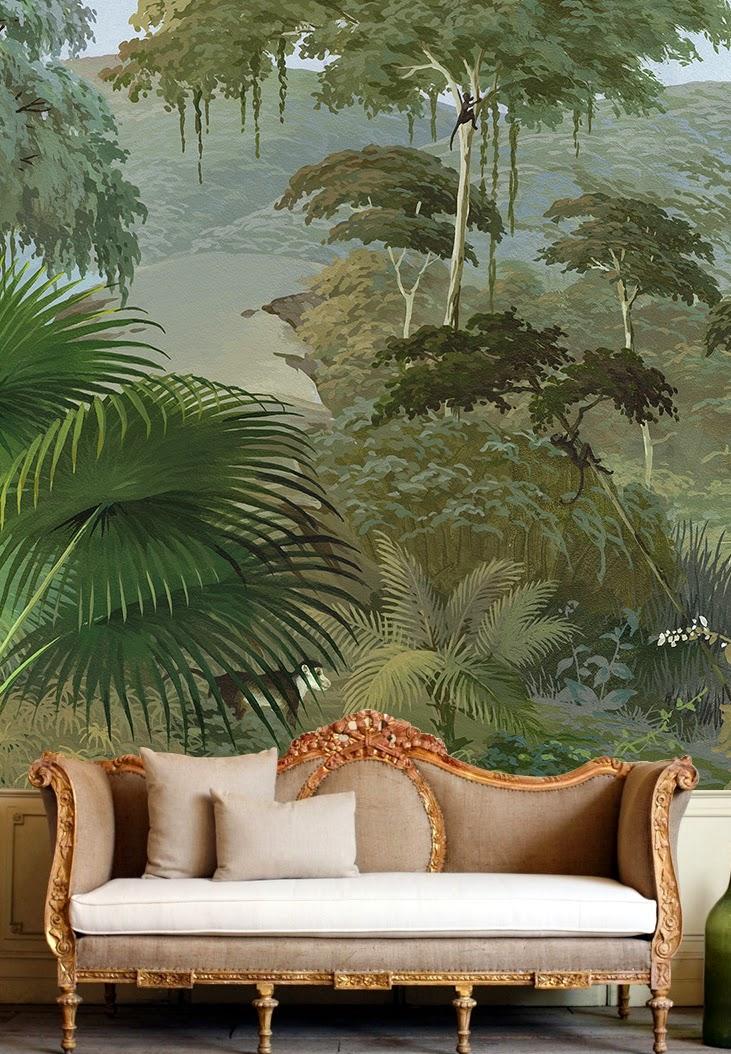 Papier peint panoramique du studio français Ananbô