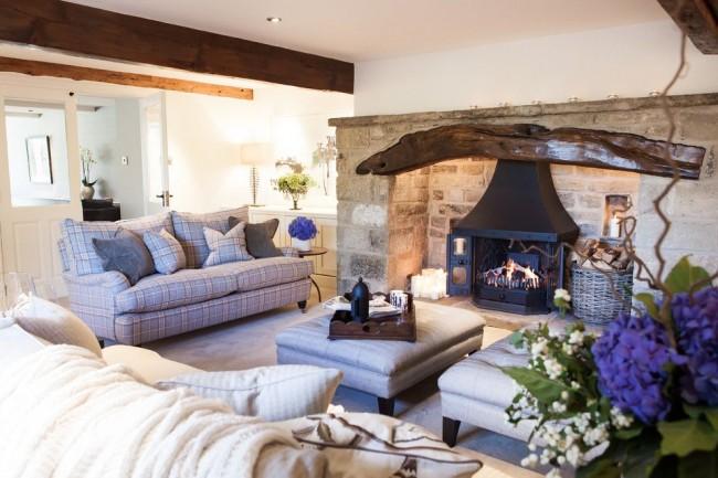 La simplicité et l'atmosphère chaleureuse de ce style témoignent de la fiabilité des fondations familiales.