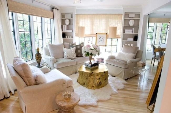Intérieur de style provençal - l'esprit de simplicité et de confort