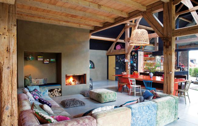 Espaces dédiés aux loisirs et à la cuisine - salle à manger