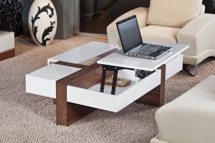 table basse transformable