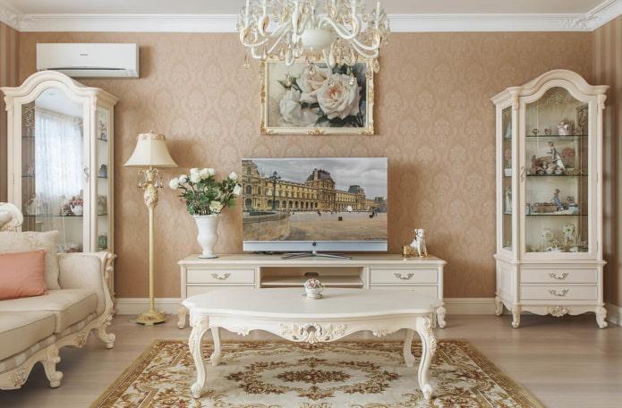 table basse de style classique