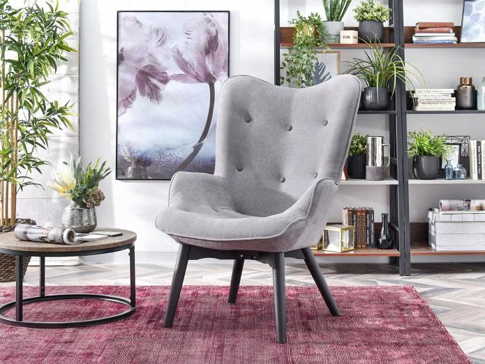 chaise à dossier haut