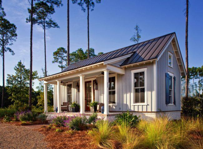 Petites maisons pour résidence permanente - idéales pour les petites zones