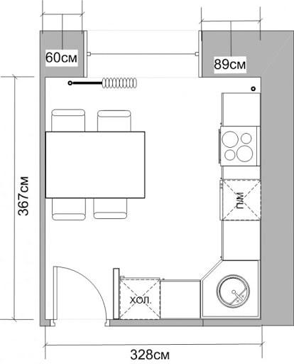 disposition des meubles 11 m²