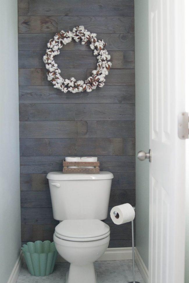 Style scandinave froid dans la conception des toilettes
