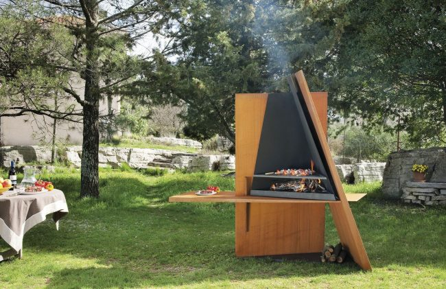 Barbecue design en métal