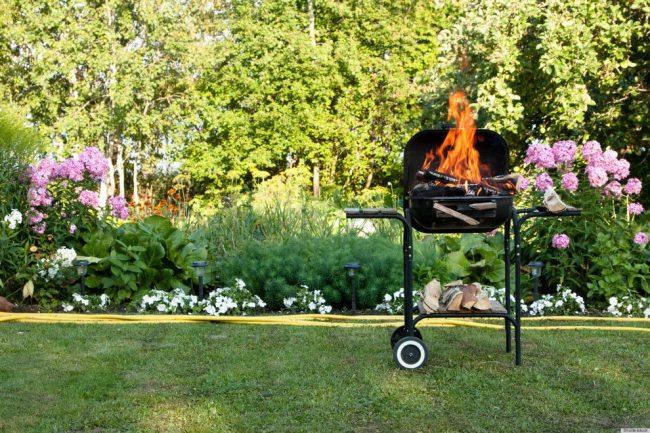 Barbecue grill, pratique pour la nature