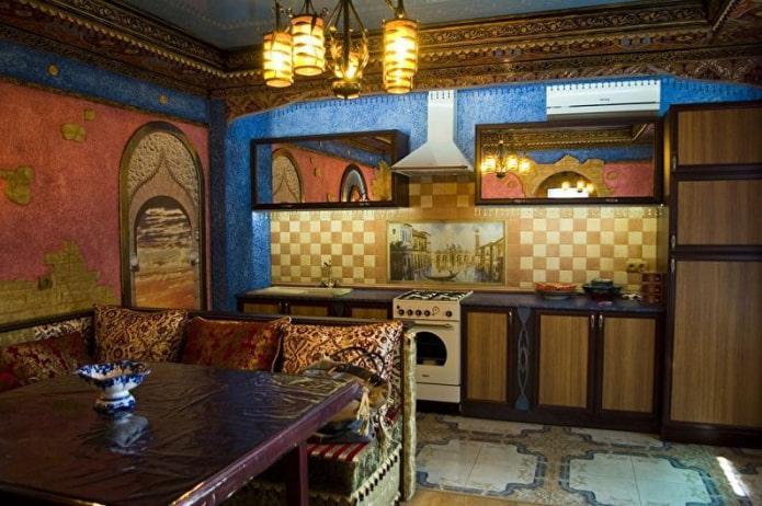 cuisine de style oriental