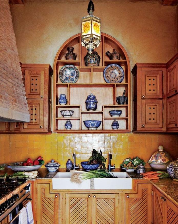 vaisselle orientale décorative