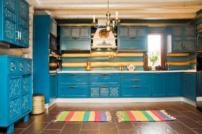 tapis colorés