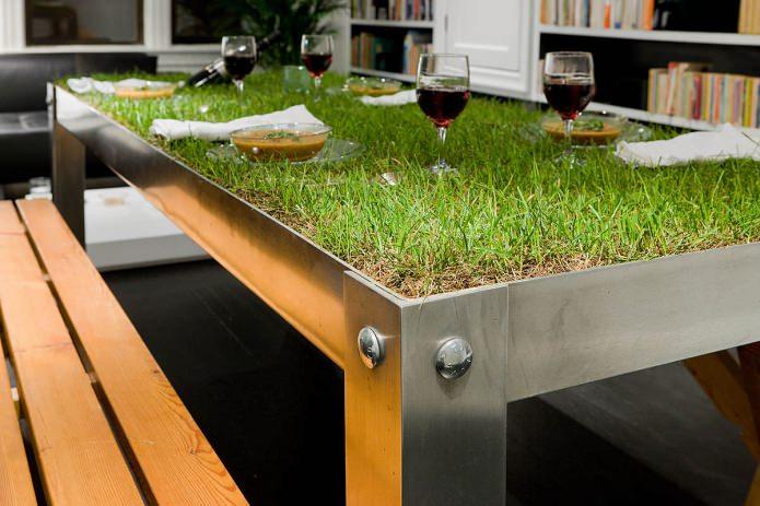 table à manger éco-style