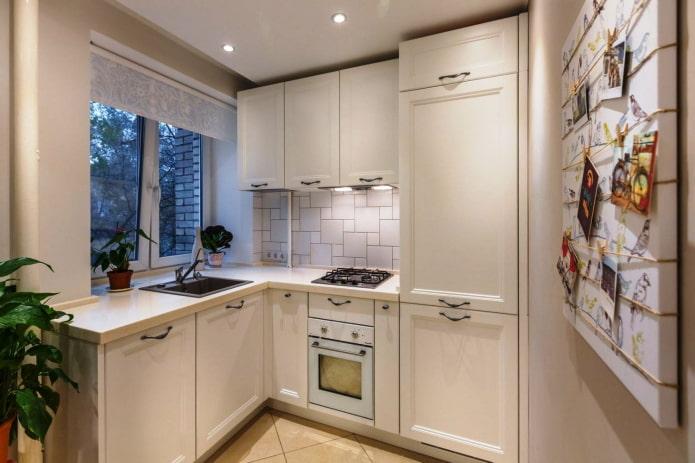 réfrigérateur intégré à Khrouchtchev