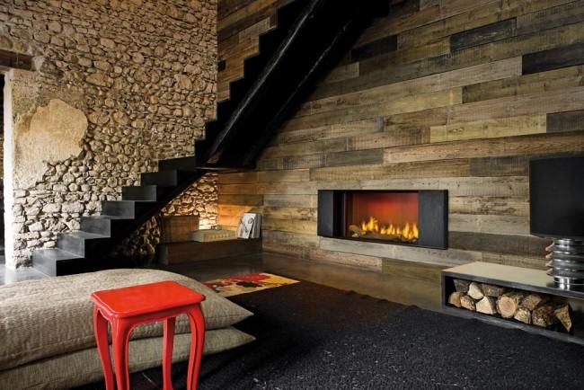 Une teinte de pierre chaleureuse et confortable ajoutera de la chaleur et de la lumière à la pièce.