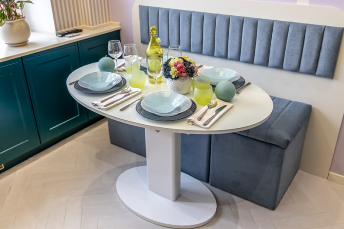 table et canapé