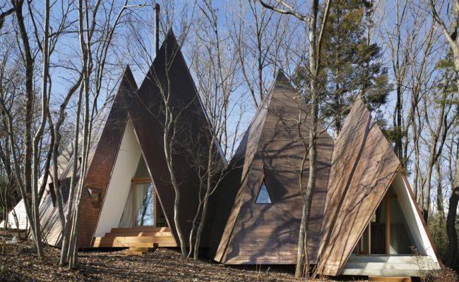 L'incarnation d'un rêve de conte de fées sous la forme d'une ville de huttes