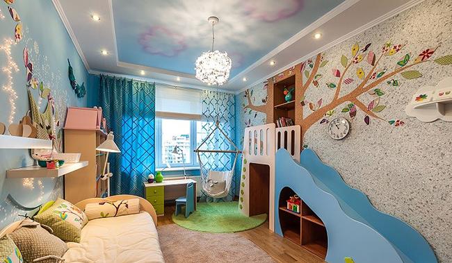 Option de conception de chambre d'enfant