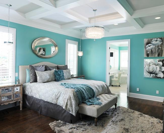 Chambre aux couleurs douces