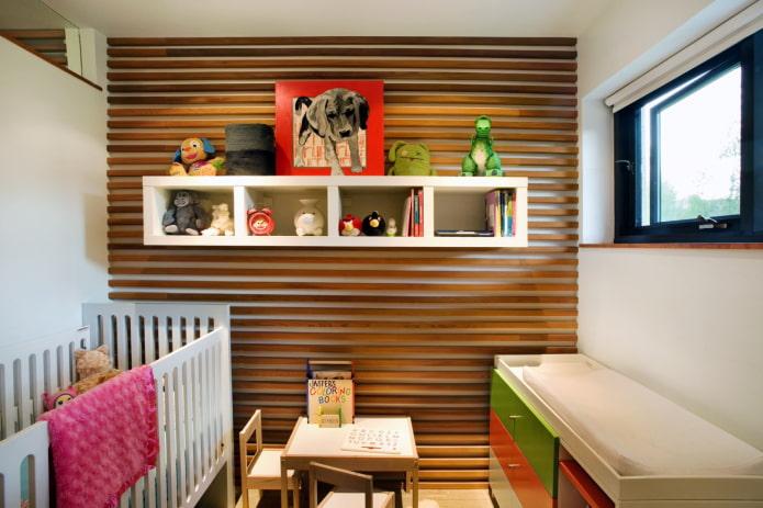 chambre lumineuse pour un enfant